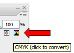 Converting CMYK colours to spot colours