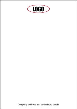 How to design a letterhead fig. 2