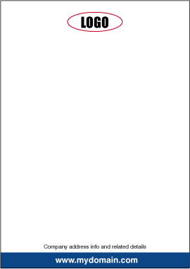 How to design a letterhead fig. 4
