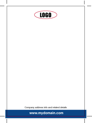 How to design a letterhead fig. 6