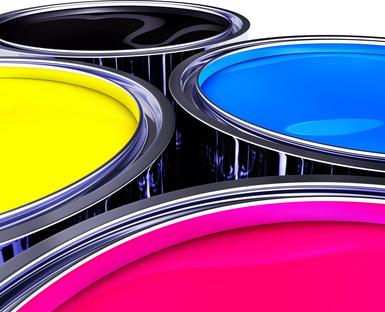 cmyk farbeimer