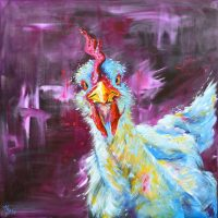 Cockerel Canvas Prints