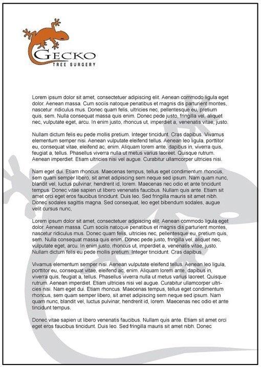 Ghost image letterhead - 4